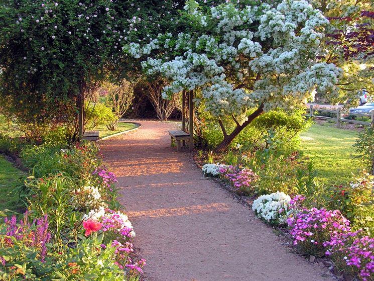 vialetto giardino - progettazione giardini - realizzazione ... - Piccolo Giardino Con Ghiaia