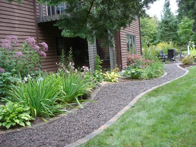 vialetto giardino - progettazione giardini