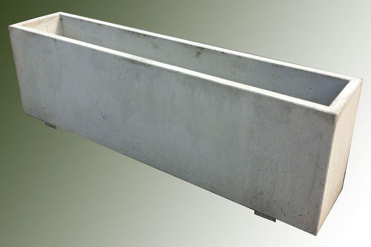 Fioriere cemento vasi e fioriere fioriere in cemento for Fioriere leroy merlin