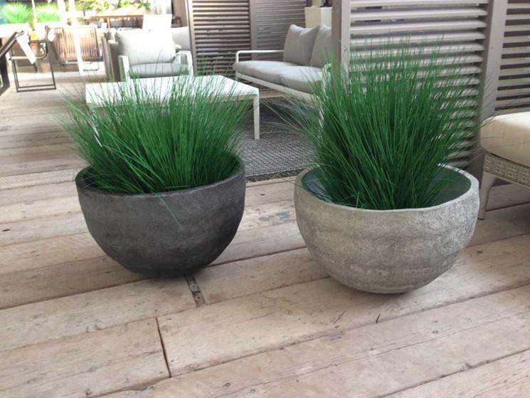 Fioriere cemento vasi e fioriere fioriere in cemento for Vasi da arredamento design