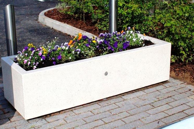 Fioriere cemento - Vasi e fioriere - Fioriere in cemento