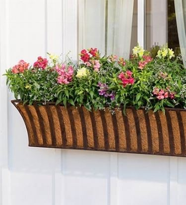Esempio di fioriera da balcone