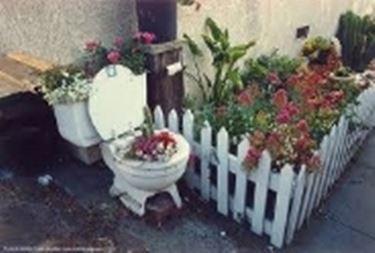 Esempio di fioriera da giardino