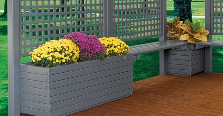 Fioriere in pvc vasi e fioriere pvc per fioriere for Divisori da giardino in plastica