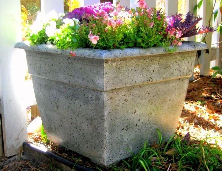 vasi cemento