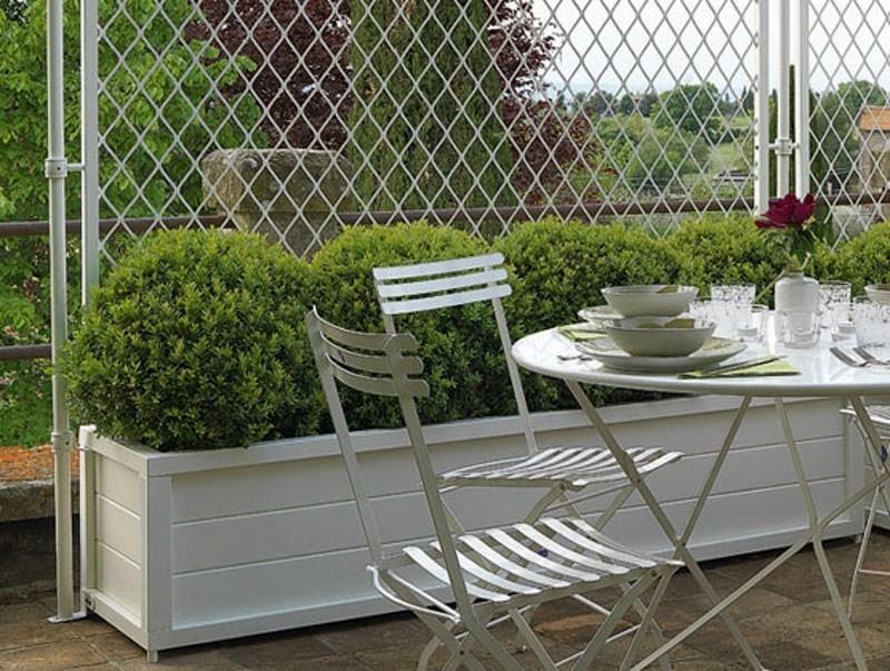 Vasi colorati vasi e fioriere vasi colorati arredamento - Arredamento terrazzo esterno ...