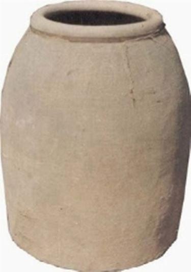 Vaso d'argilla in lavorazione