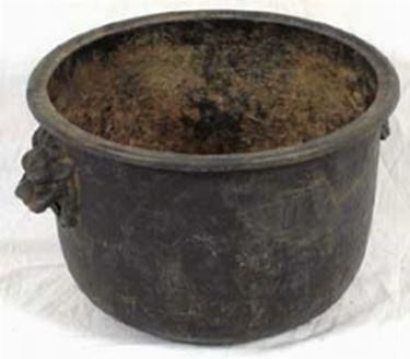 Altro esempio di vaso in ferro