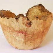 Esempio di vaso di legno fatto a mano