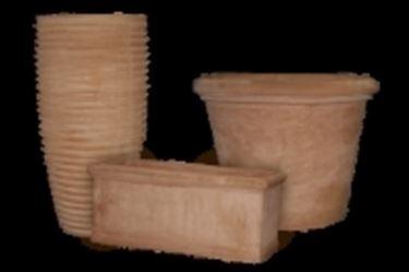 Esempio di vasi in terracotta di divese forme