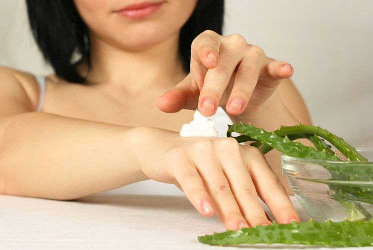 Usi dell'Aloe vera gel
