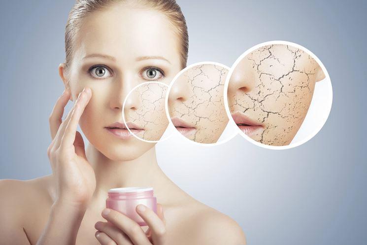 Effetti della pelle secca