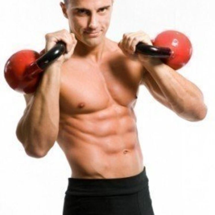 bodybuilder in allenamento