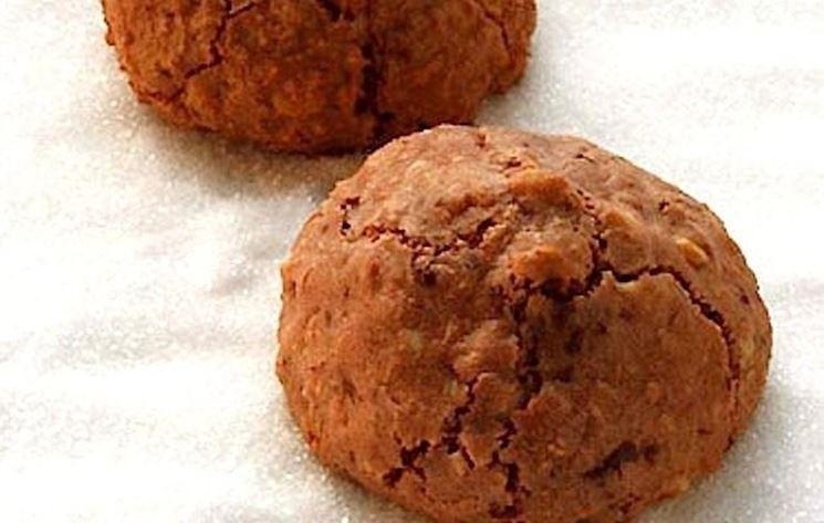 primo piano biscotti alla cannella