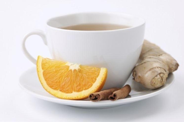 Tisana allo zenzero e miele