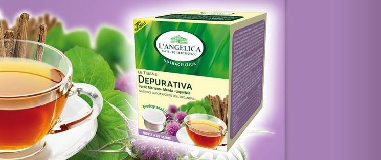 Tisana depurativa L'Angelica