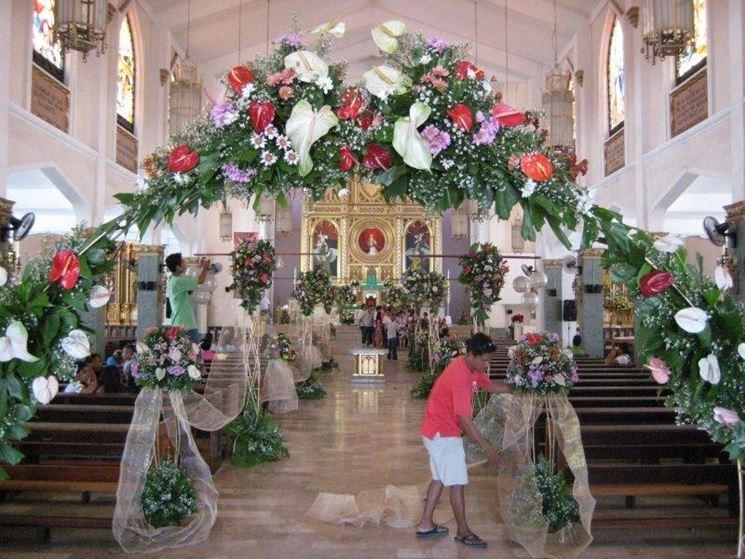 Addobbi Floreali Matrimonio Chiesa Fiori Per Cerimonie