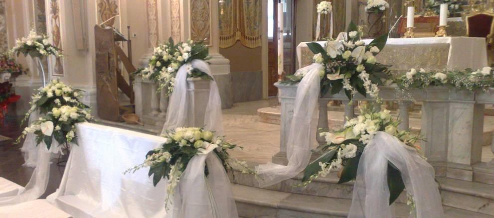 Matrimonio In Chiesa : Addobbi floreali matrimonio chiesa fiori per cerimonie