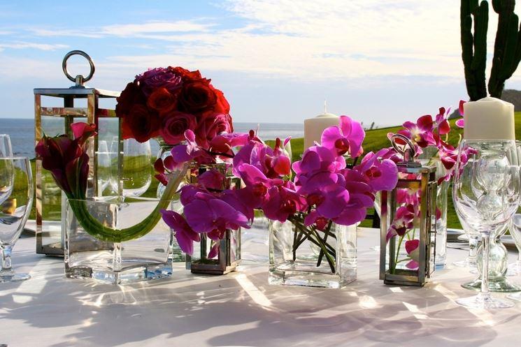 le creazioni floreali per eventi