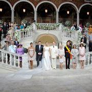 Chiesa addobbata per un matrimonio