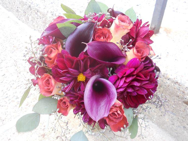 Bouquet di Dalie e Calle