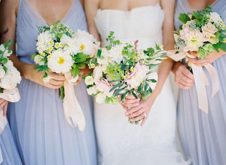 fiori per damigelle