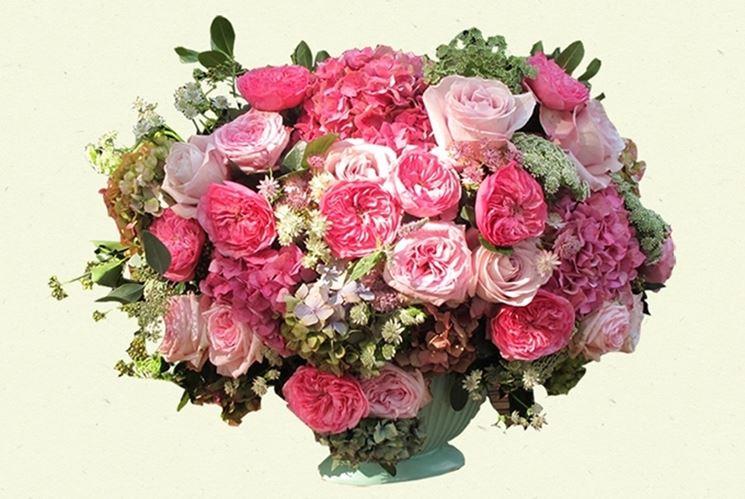 Fantastica composizione di fiori