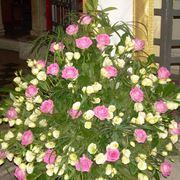 Composizioni floreali in chiesa