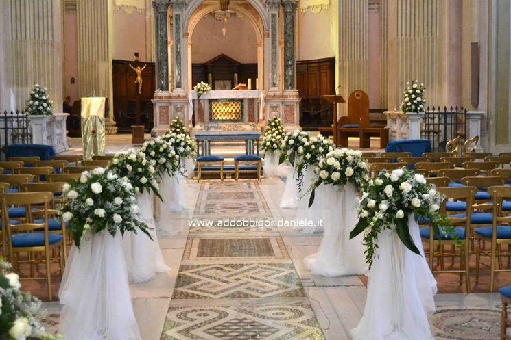 Fiori per la cerimonia del matrimonio