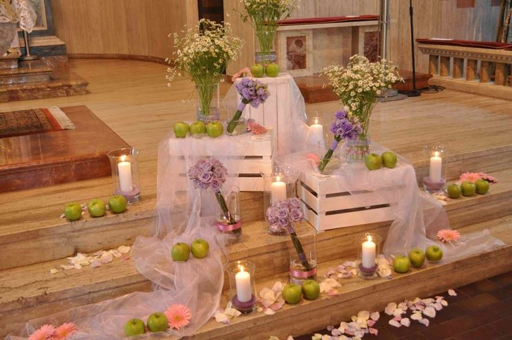 Fiore e addobbi per il matrimonio