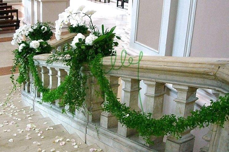 addobbo floreale matrimonio