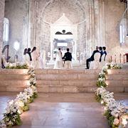 Addobbi matrimonio in bianco
