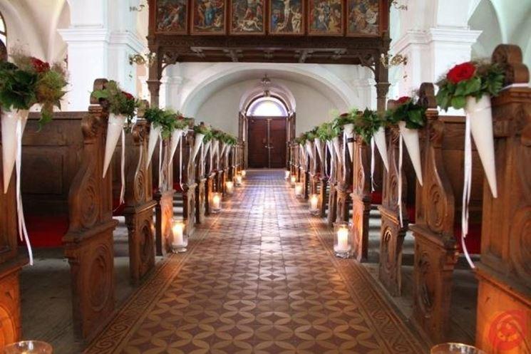 Matrimonio Natale Chiesa : Addobbi matrimonio fai da te regalare fiori come