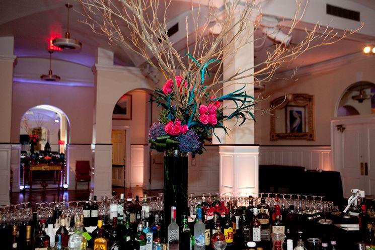 Allestimento floreale per evento