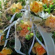 Composizione floreale con rose