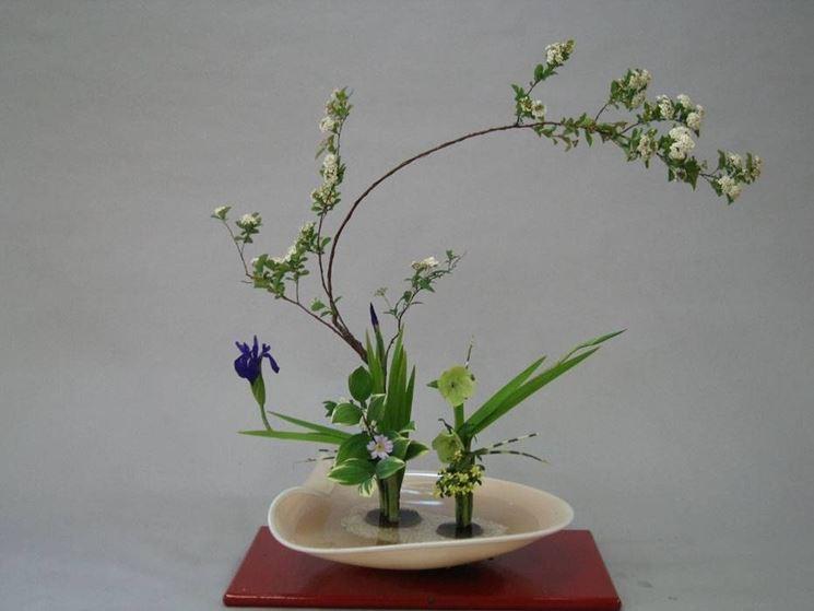 Ikebana di stile Rikka