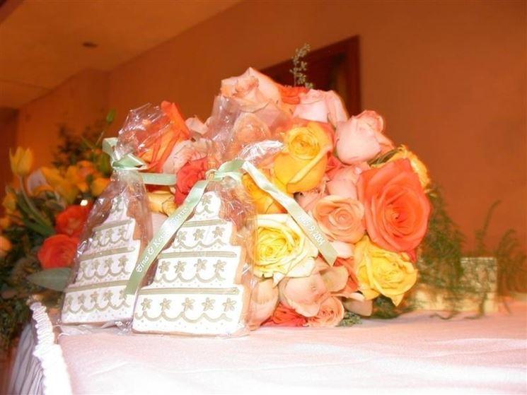 Decorazione floreale da tavolo