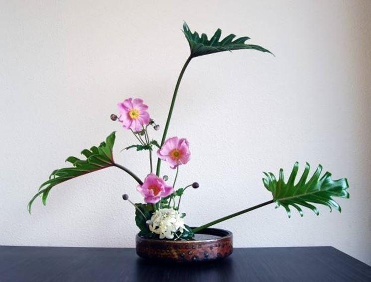 Esempio di composizione floreale per la laurea