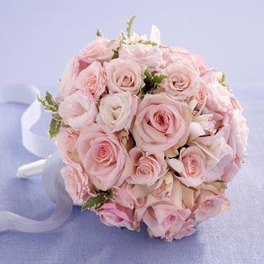 Bouquet da sposa tondo