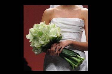 Bouquet da sposa fascio