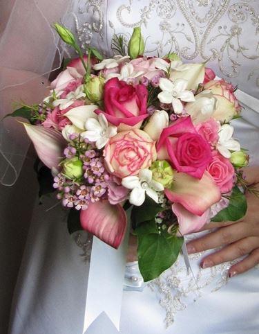 Il bouquet della sposa: stile romantico