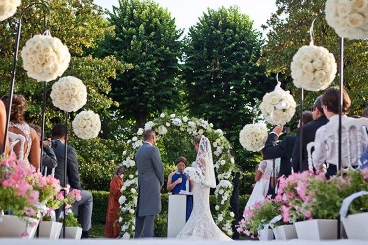 Popolare Composizione floreale matrimonio - Regalare fiori - Composizione  KW01