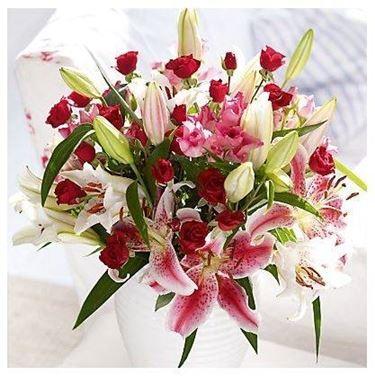 Esempio di regalo floreale.