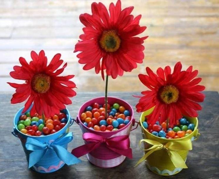 composizioni floreali fai da te centrotavola