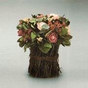 Composizione floreali di fiori secchi