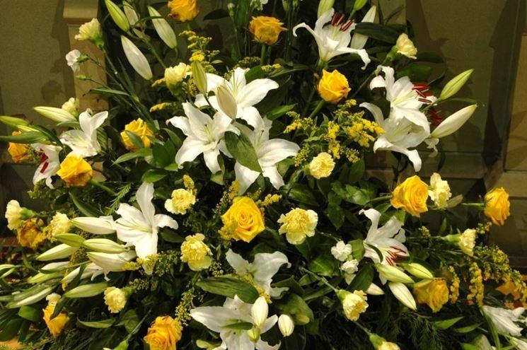Fiori per liturgia pasquale