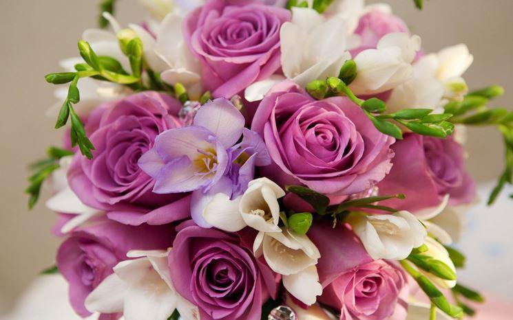 mazzo fiori colorati