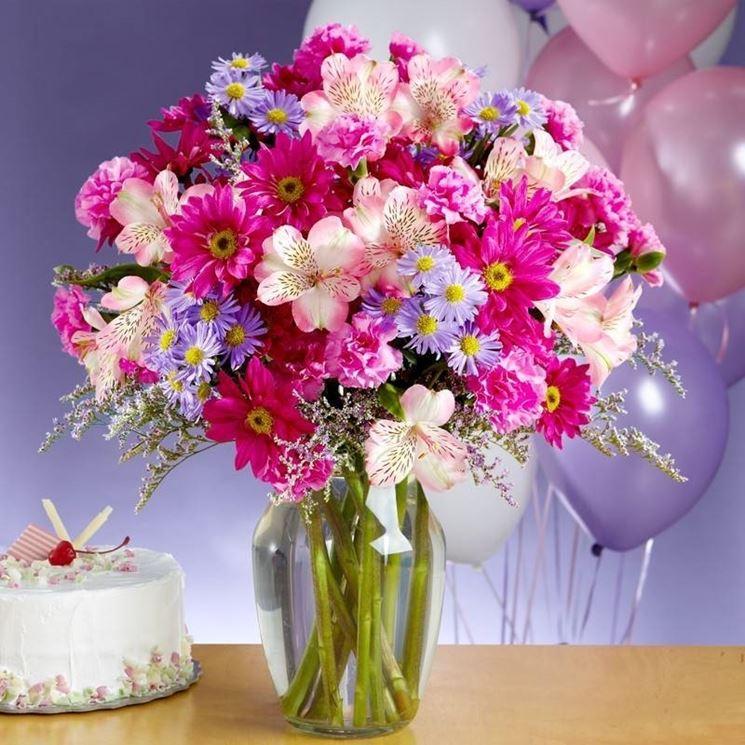 Famoso Fiori compleanno - Regalare fiori - Quali fiori scegliere per il  OE81
