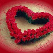 romantica composizione di fiori
