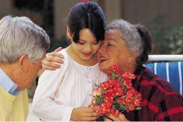 fiori per i nonni